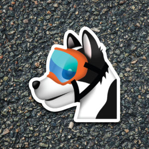 Airport K-9 Emoji Decal