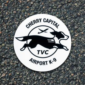 Airport K-9 Logo Decal