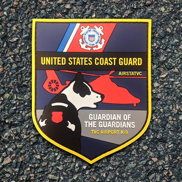 Airport K-9 U.S. Coast Guard Patch